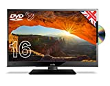 Cello C16230FT2S2 16' Full HD LED TV/DVD Freeview HD and Satellite Tuner Made In The UK Black
