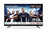 TCL 50P615K 50 Inch 4K Ultra HD Smart Android TV with Freeview Play, HDR10, Micro Dimming Pro, Prime Video, Netflix, YouTube, Dolby Audio, Bluetooth, WiFi, 3*HDMI, 2*USB, Slim Design - Black