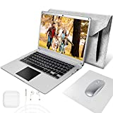 NBD Laptop 14.1 inch Windows 10 Netbook,4 GB RAM 64 GB ROM,Support 256GB TF card and 1TB SSD Expansion,Laptops equipped with Laptop Bag, Mouse, Mouse Pad & Headphone