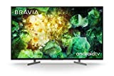Sony BRAVIA KD43XH81 - 43-inch - LED - 4K Ultra HD - High Dynamic Range (HDR) - Smart TV (Android TV) - with Voice Remote - (Black, 2020 model)