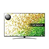 LG 55NANO866PA 55 inch 4K UHD HDR Smart NanoCell TV (2021 Model) with α7 Gen4 AI processor, HDR, HFR, VRR, Dolby Atmos & Dolby Vision IQ, Google Assistant and Alexa compatible