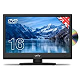 Cello C1620FS/ZSF0261 16' inch Full HD LED TV/DVD Freeview HD and Satellite Tuner 2020 Model Made In The UK (New 2020 Model) , Black