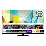 Samsung 2020 49' Q80T QLED 4K HDR 1500 Smart TV with Tizen OS, CARBON SILVER