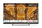 TCL 65EC788 65-Inch 4K Ultra HD Smart Android TV, Freeview Play, Prime Video, Netflix, YouTube, ONKYO Dolby Atmos Sound, Far-field Voice Control Built-in, HDR10+, Frameless Metal Design