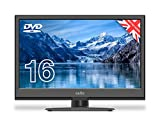 Cello 12 Volt C1620FS 12 Volt 16' inch Full HD LED Digital TV/DVD Freeview HD and Regulated Adaptor Made In The UK