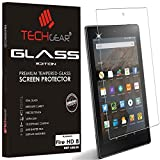TECHGEAR GLASS Edition fits Previous Generation Amazon Fire HD 8' Tablet (2015-2018) - Genuine Tempered Glass Screen Protector Cover Compatible with Amazon Fire HD 8 8th 7th 6th 5th Generations ONLY
