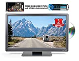 Avtex L168DRS 16″ 12v/24v TV with FREE 8GB USB STICK AND SCREEN CLEANER,built in DVD, Freeview HD, Satellite Tuners,USB Record PVR, Perfect for Caravan,Motorhome,Truck or Boat