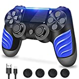 PS4 Controller Wireless, PS4 Controller, Shineled Wireless Game Controller Joystick Gamepad for PS4 (Black)