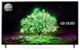 LG OLED55A16LA 55 inch 4K UHD HDR Smart OLED TV (2021 Model) with α7 Gen4 AI processor, 4K SELF-LIT OLED, Dolby Vision IQ and Dolby Atmos, built-in Google Assistant and Alexa