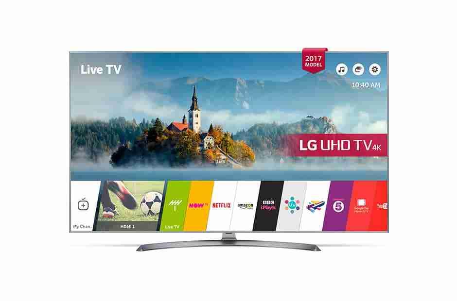 LG 43UJ750V43-Inch 4K UHD Smart TV