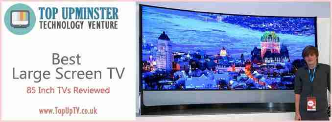 Best large screen 85 tv