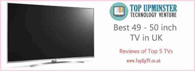 Best 44 50 inch TV in UK – 5 Top Picks in 2019