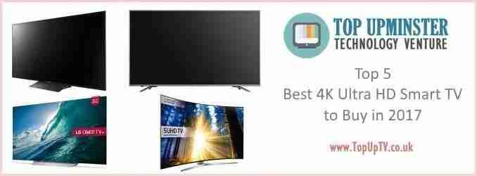 Top 5 Best 4K Ultra HD Smart TV to Buy in 2019