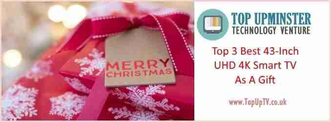 Best 43-Inch 4K UHD Smart TV to Gift this Christmas