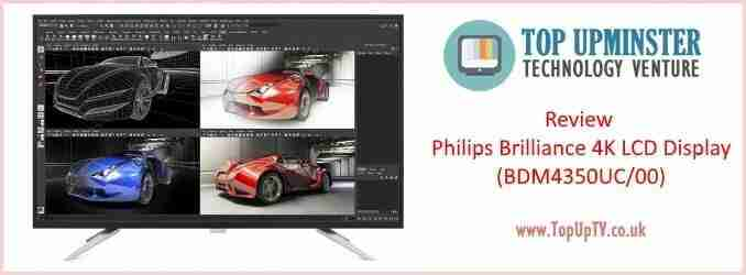 Review Philips Brilliance 4K LCD Display BDM4350UC 00