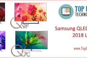 Samsung QLED 2018 TV lineup