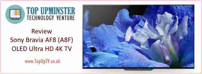 Sony Bravia AF8 A8F OLED Ultra HD 4K HDR10 Plus Smart TV 2018 Review Amazon Topuptvuk