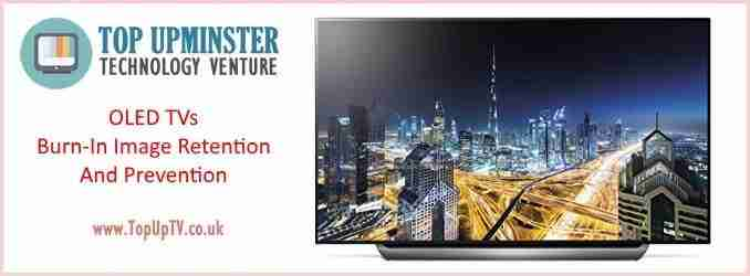 Do OLED TVs Suffer from Screen Burn In or Permanent Image Retention