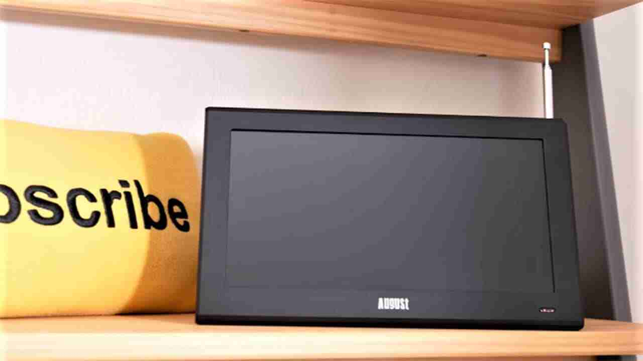 august portable tv