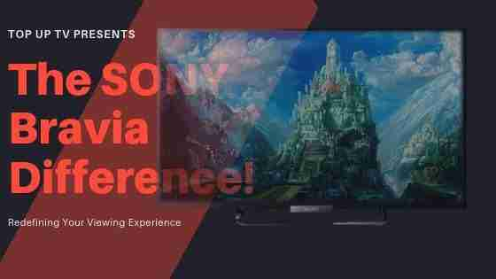 The SONY Bravia Difference