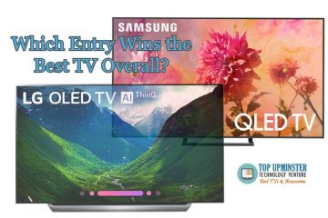LG C8 Series 4K OLED TV vs Samsung Q9FN 4K QLED TV