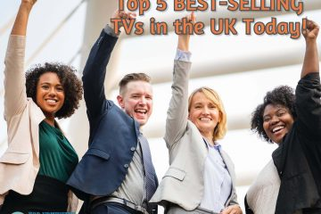 top 5 best selling tvs in uk