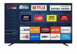 best 40-inch smart TV, UK