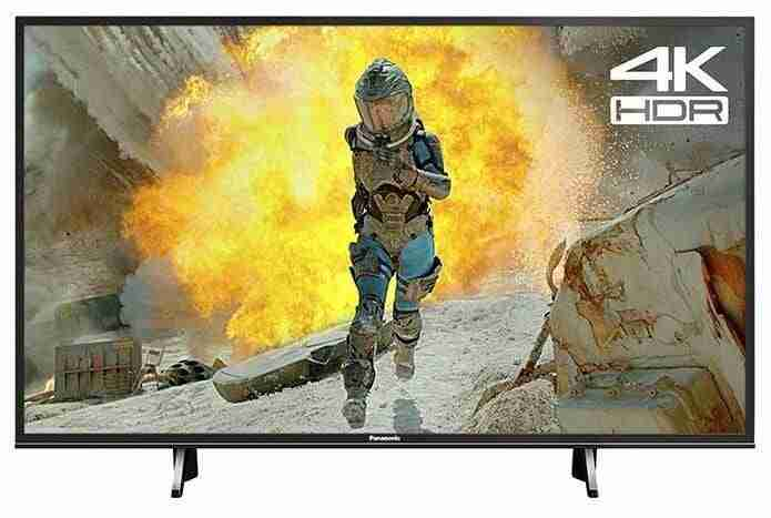 Panasonic TX-43FX600B 43-Inch Ultra HD 1600Hz 4K HDR Smart LED TV with Freeview Play