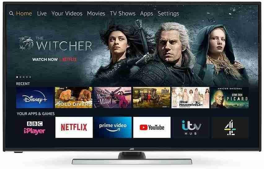 JVC FIRE EDITION 55'' SMART ULTRA HD HDR LED TV