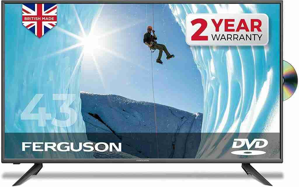 """Ferguson 40"""" inch Full HD LED TV With DVD player, Freeview HD, USB & 3 x HDMI - British Manufacturer - F4020F (New 2020 Model)"""