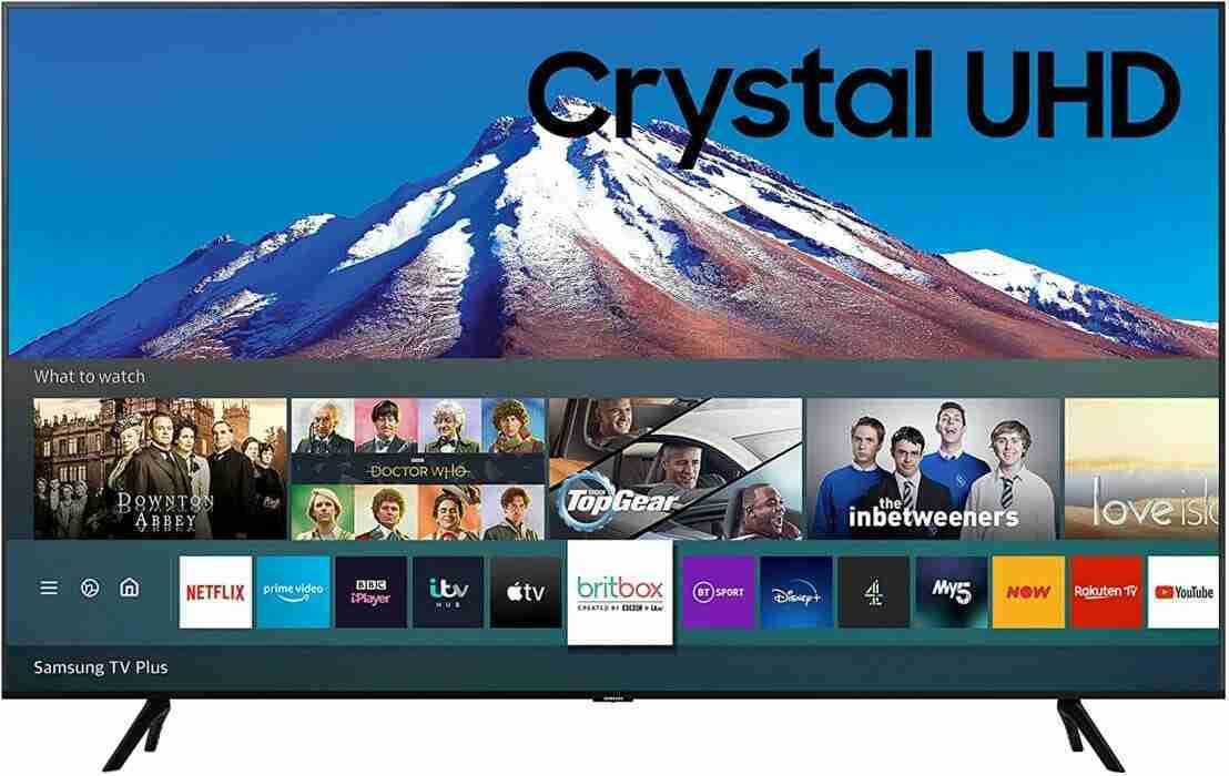 SAMSUNG CRYSTAL UHD 4K ULTRA HD HDR 75'' SMART TV