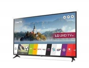 LG Electronics 55UJ630V 4K Ultra HD Smart LED Television