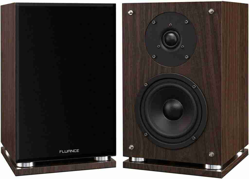 Fluance Elite Series Surround Sound Home Theater 7.0 Channel Speaker System including Three-way Floorstanding, Center Channel, Surround & Rear Surround Speakers