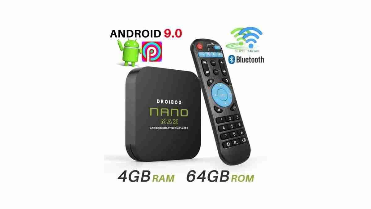Aeromedia NANO MAX Android TV Box