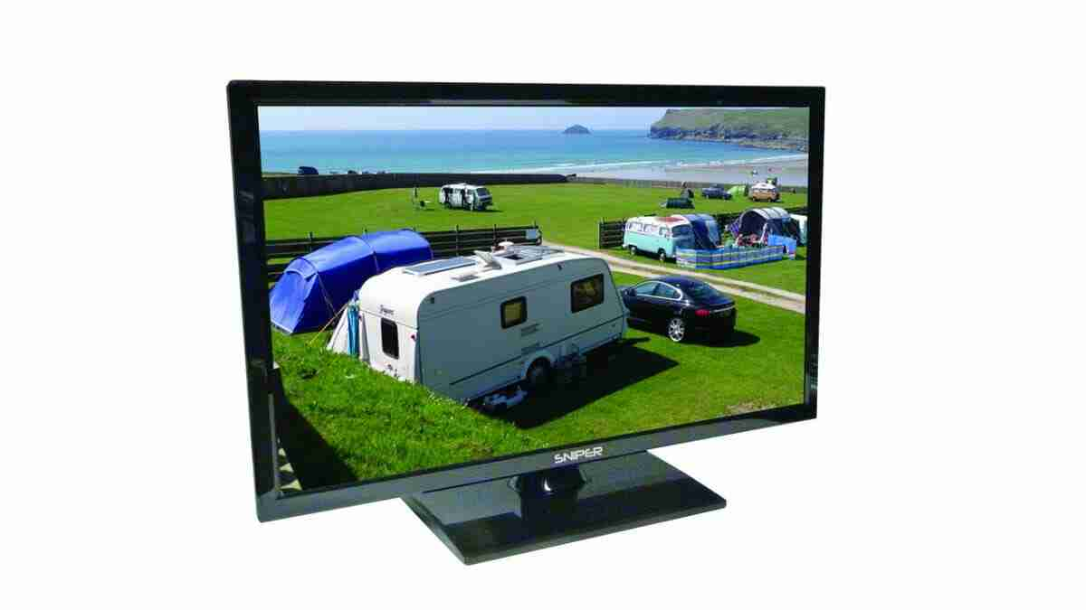 Compact TV for Camping