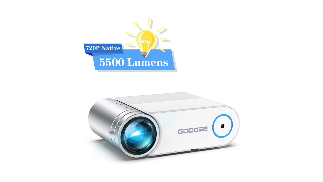 GooDee 5500 Lumens Portable
