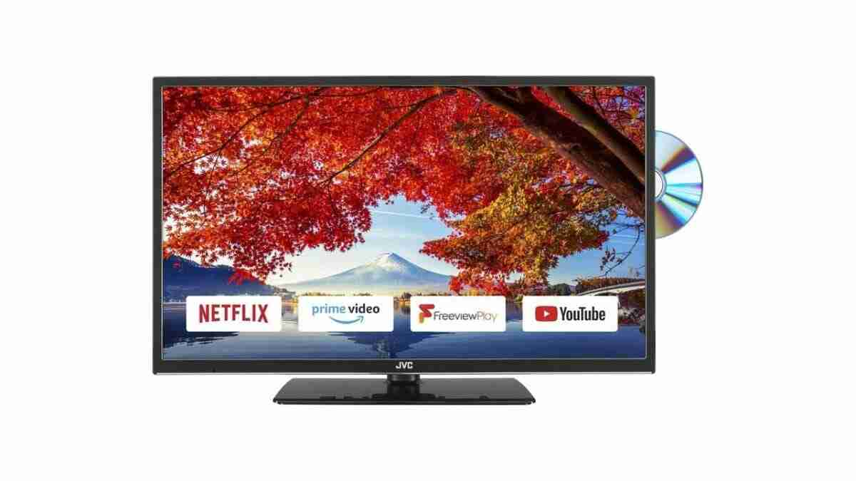 JVC Smart TV with DVD