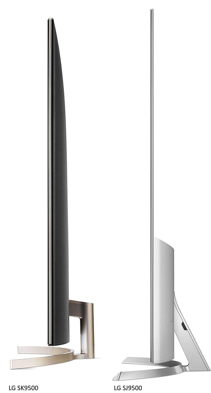LG SK9500PUA Side Size Dimension