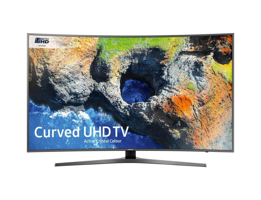 MU6670 Curved Active Crystal Colour Ultra HD HDR Smart TV