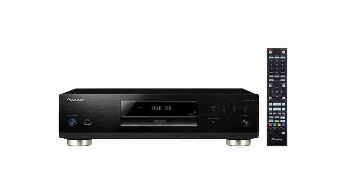 Pioneer Universal Disc Player TV With Built-In Blu Ray