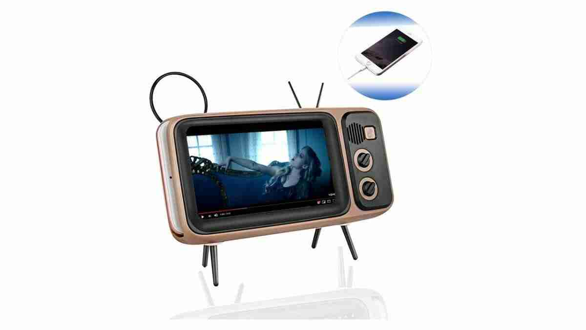 Portable Smartphone TV Speaker