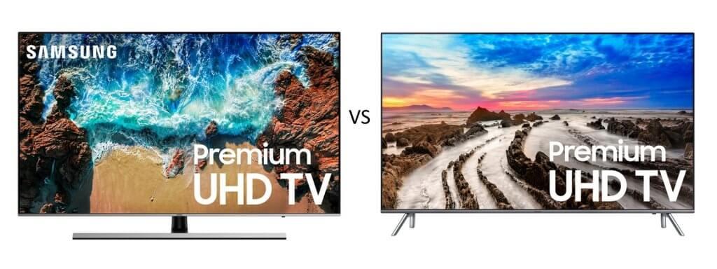 Samsung NU8000 vs Samsung MU8000