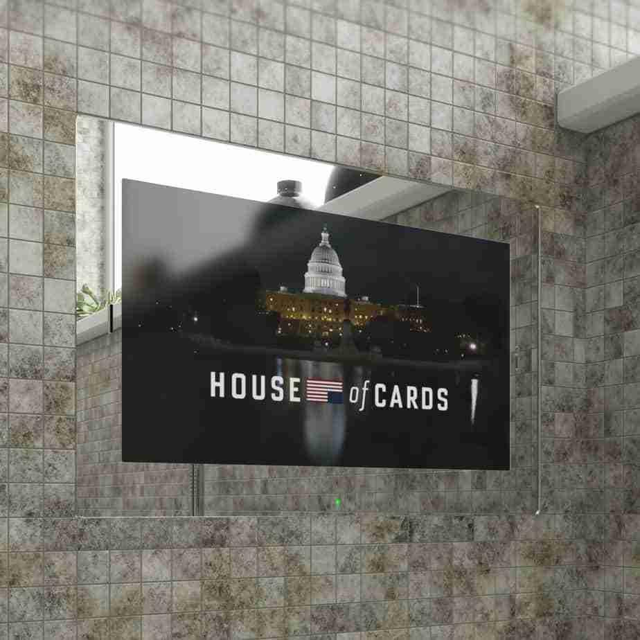 "22"" SARASON Bathroom Mirror Smart TV"