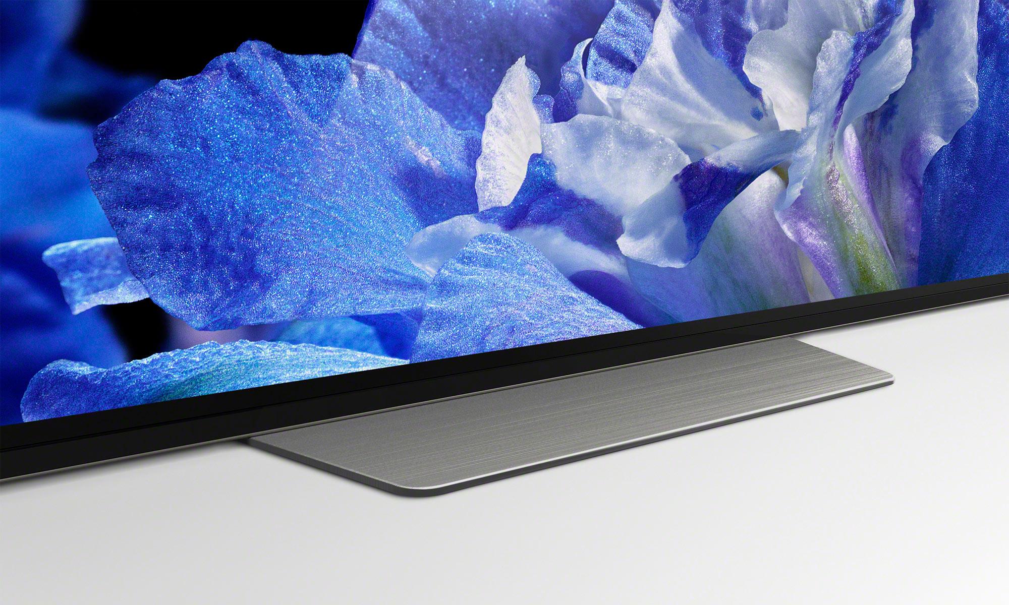 Sony Bravia AF8 OLED A8F Ultra HD 4K HDR10 Plus Smart TV 2018 Stand