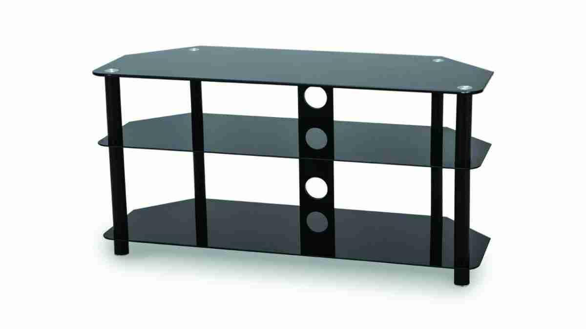 Stylish Corner Glass TV Stand