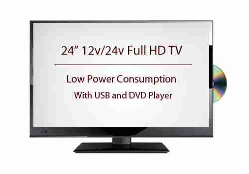 24-Inch LED Full HD TV for Motorhome