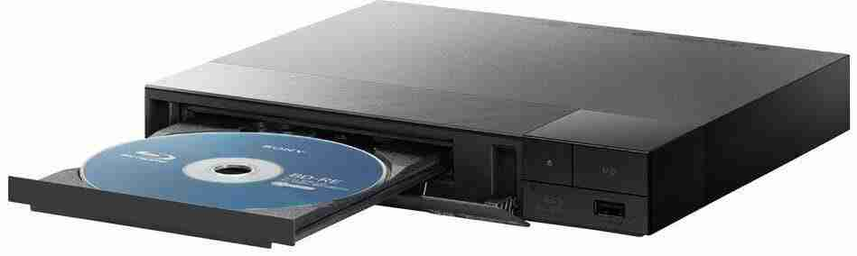 Blu-Ray Players   sony bdps3700 sideview